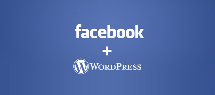 Facebook and WordPress