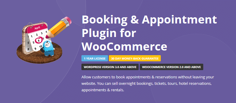 WooCommerce Booking Solutions - Booking & Appointment Plugin for WooCommerce